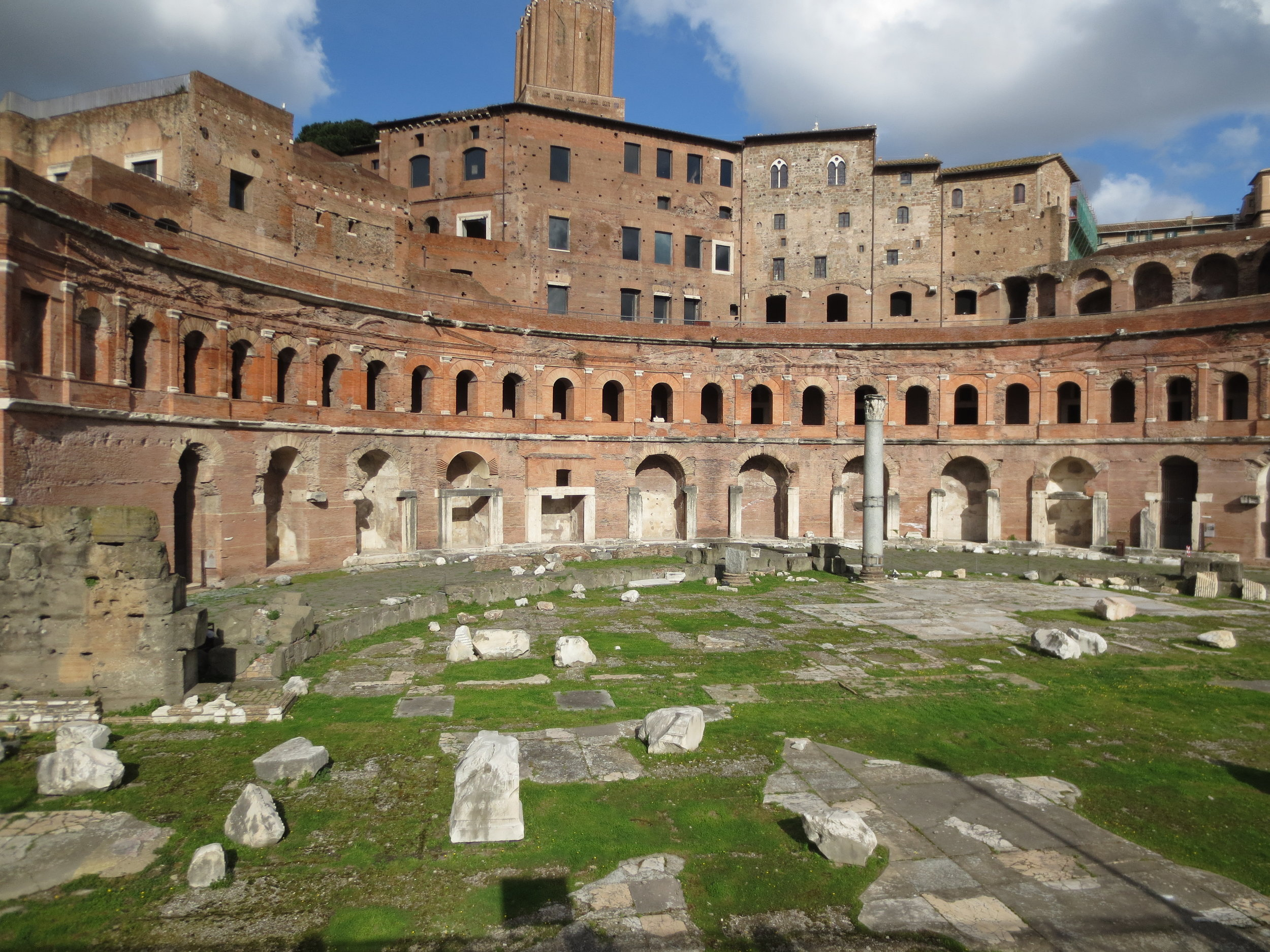 Trajan's Market, Rome, photo: Andy Bruner
