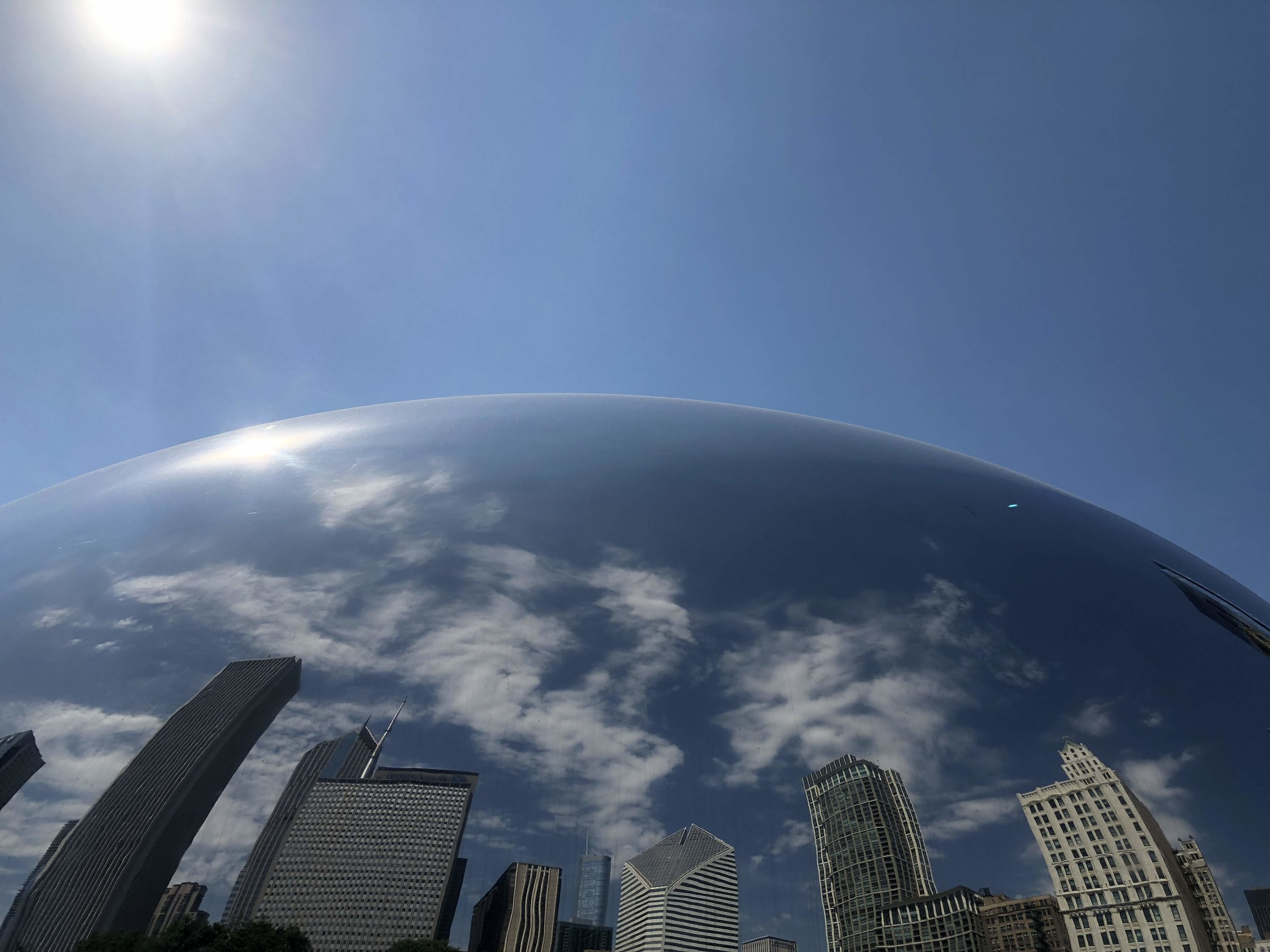 Cloud Gate, Chicago. photo: Andy Bruner