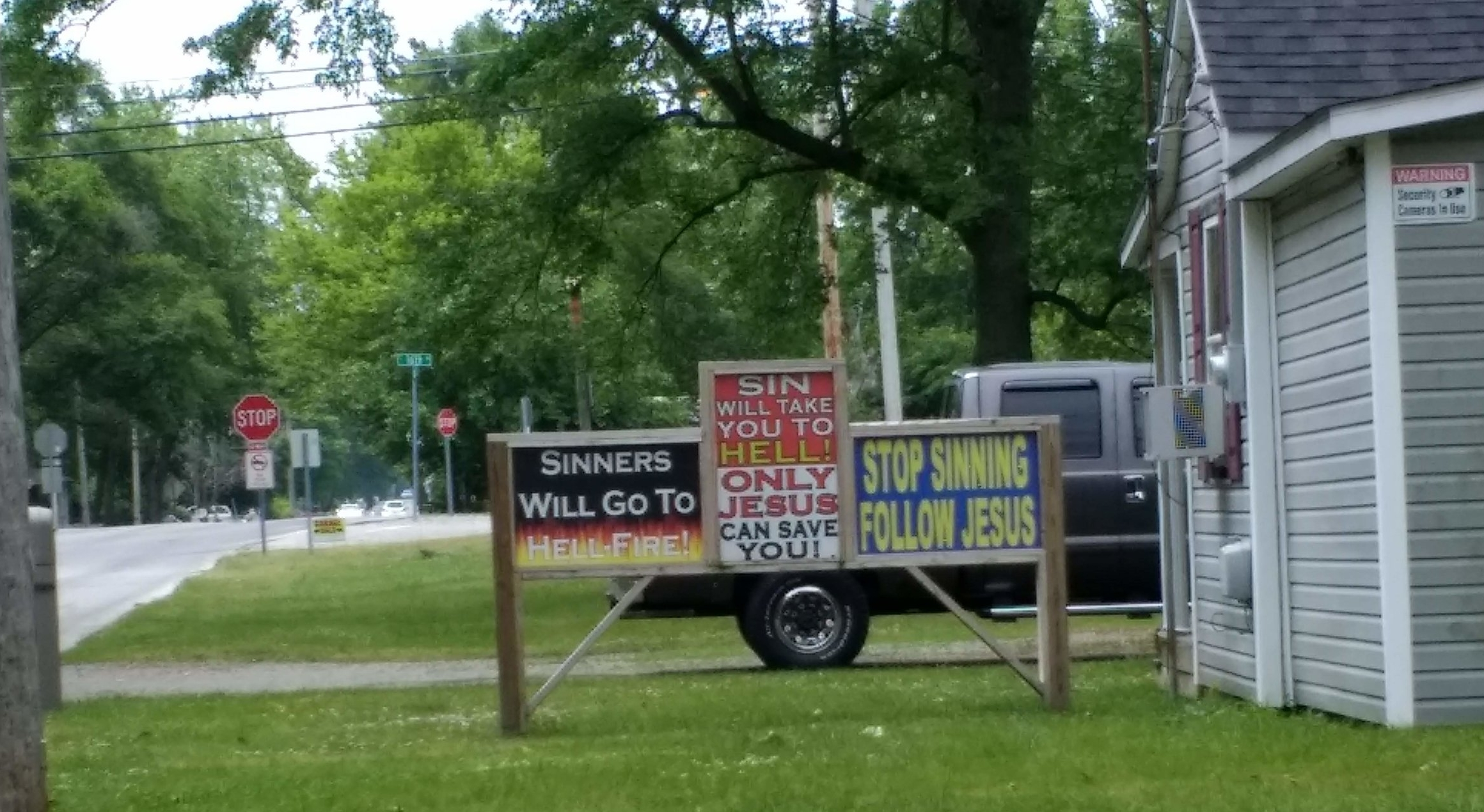 Street scene, Muncie, Indiana