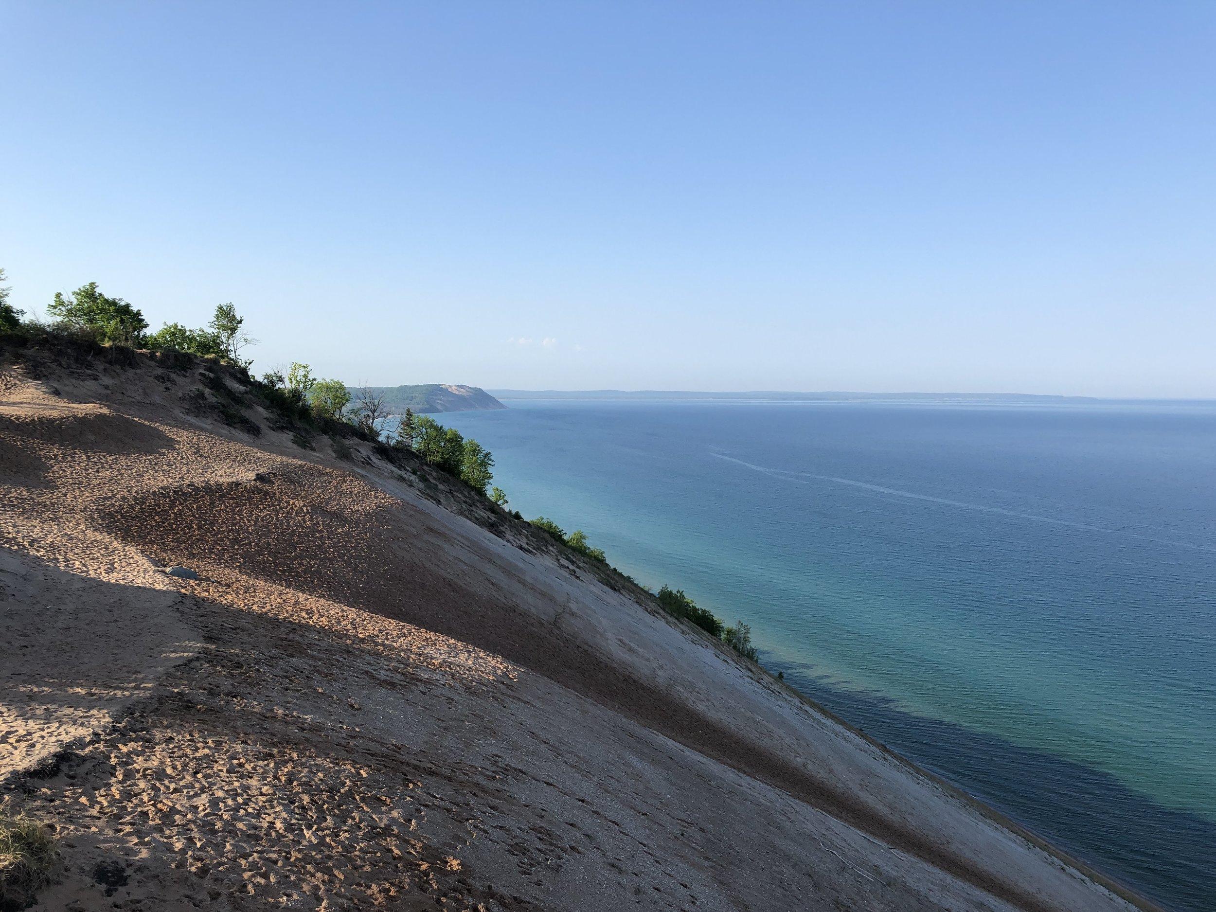 Sleeping Bear Dunes National Lakeshore, Lake Michigan (photo: Andy Bruner)