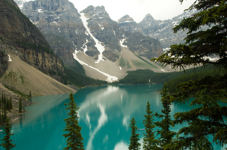 Moraine Lake, near Banff