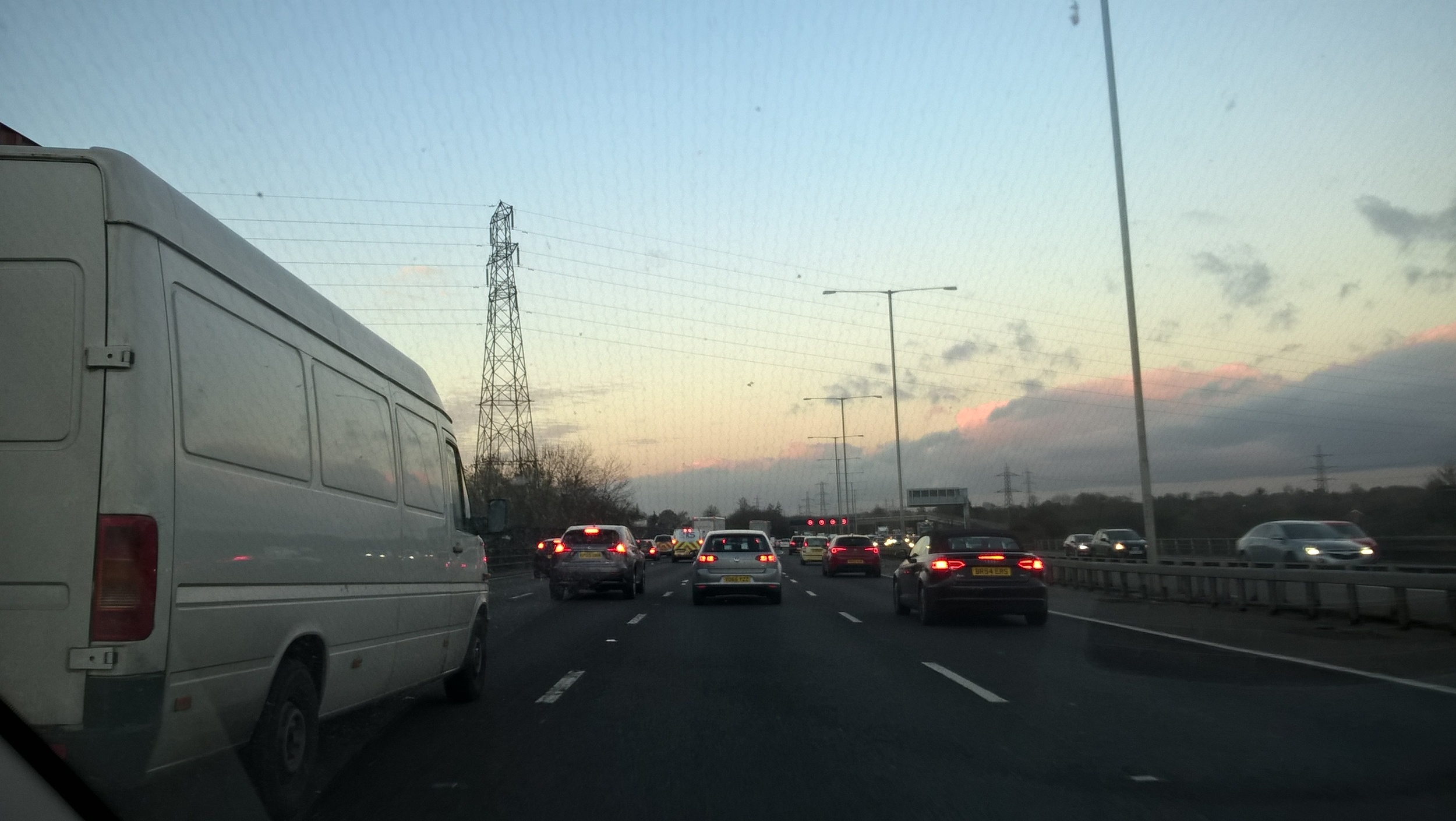 THE M25 - DANTE'S 10TH CIRCLE OF HELL