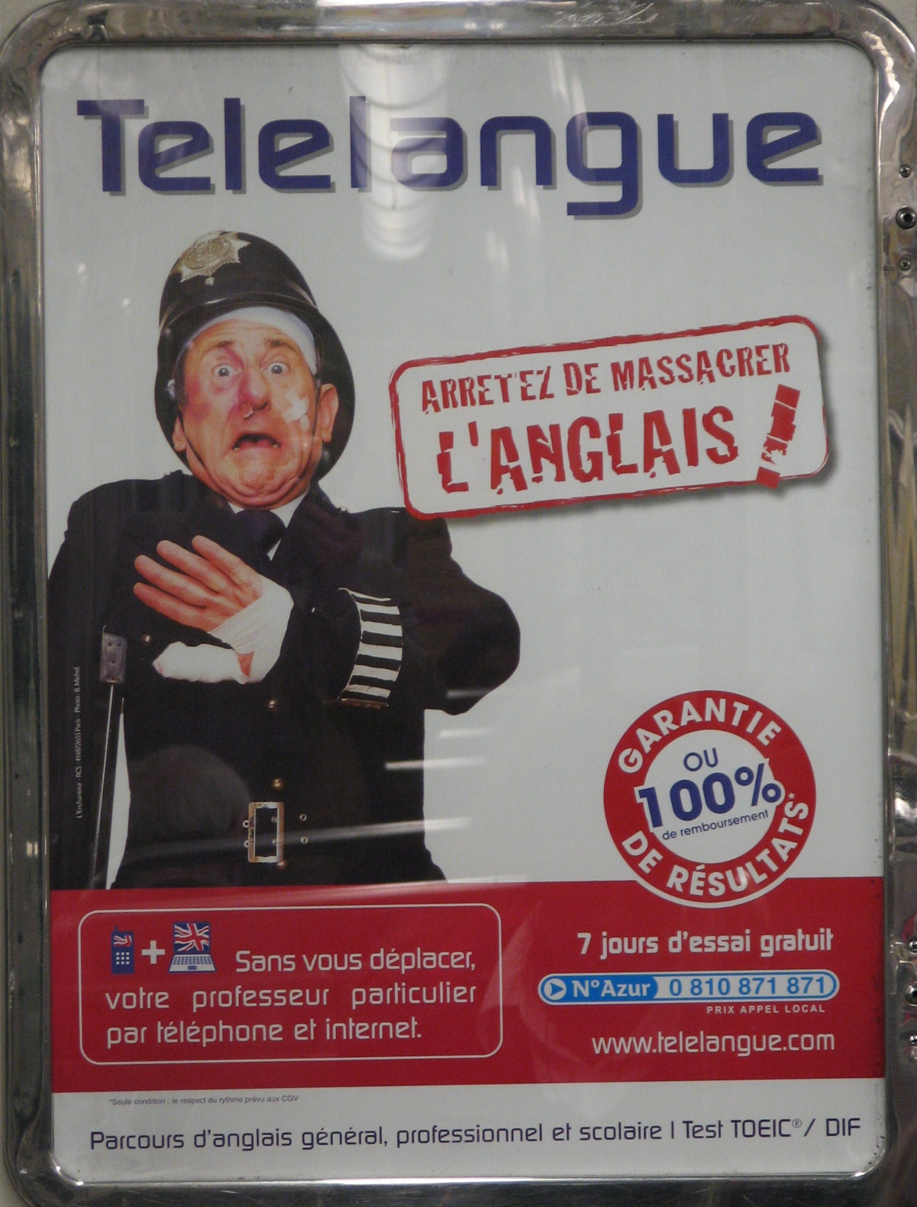PROOF THAT THE FRENCH UNNWLTHAVE A SPLENDIDE SENSE OF HUMOUR