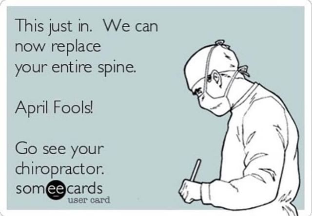 👉Surgery is no Joke. Chiropractic🤸‍♂️ and Physical Therapy🏋️‍♂️ can help💪.