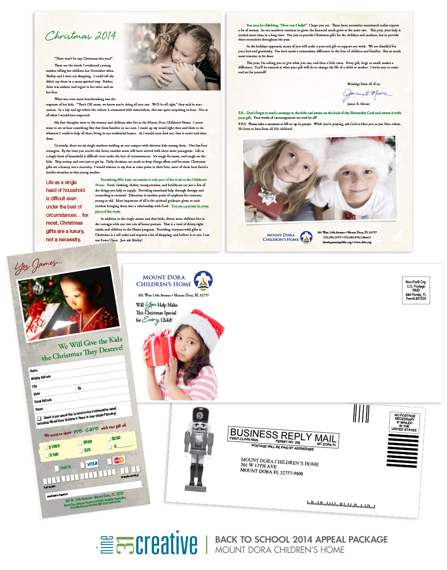 2014 Christmas Appeal - Mount Dora Children's Home