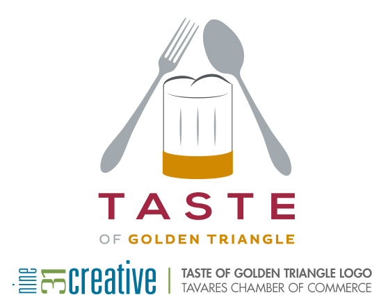 Taste of Golden Triangle Logo - Tavares Chamber of Commerce