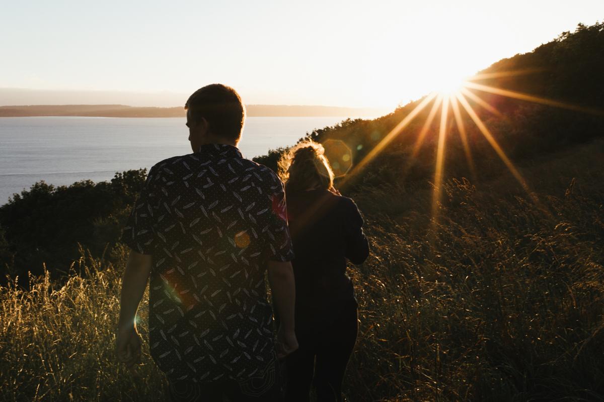 sunset starburst seattle photographer
