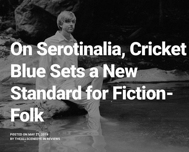 "The All Scene Eye wrote a deeply observant and very thoughtful review of Serotinalia. Thank you for making us feel so seen! ""If you like short fiction for its puzzle-like complexity, you'll appreciate the way the pieces fall tighter into place on repeated plays, but even at face value, Serotinalia is breathtaking in its beauty and ambition"" link in the bio. Photo by @monikarivard"