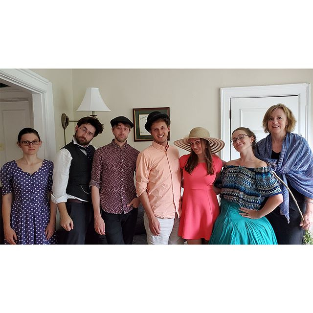 We had sooo muuuuch fuuuun with our Kickstarter Murder Mystery Tea Party this past weekend. Thanks to our wonderful Kickstarter backers who came from as far as Boston and New York to be silly with us. BURLINGTON see you Friday at Lamp Shop? We go on at 8.