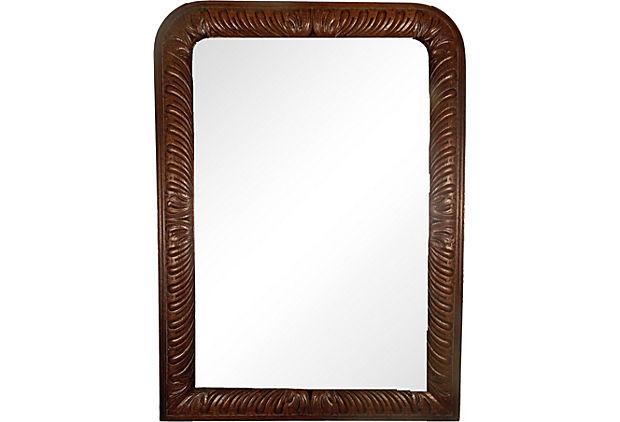 Carved Louis Philippe Mirror.jpg