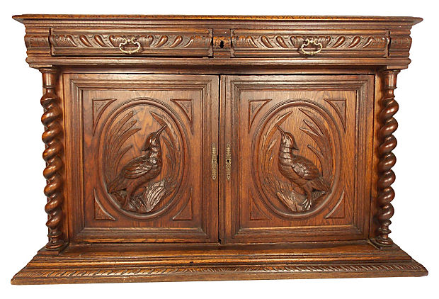 19th-C. Carved Barley-Twist Cabinet.jpg
