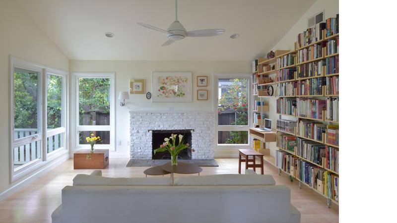 Palo Alto Residence Living Room