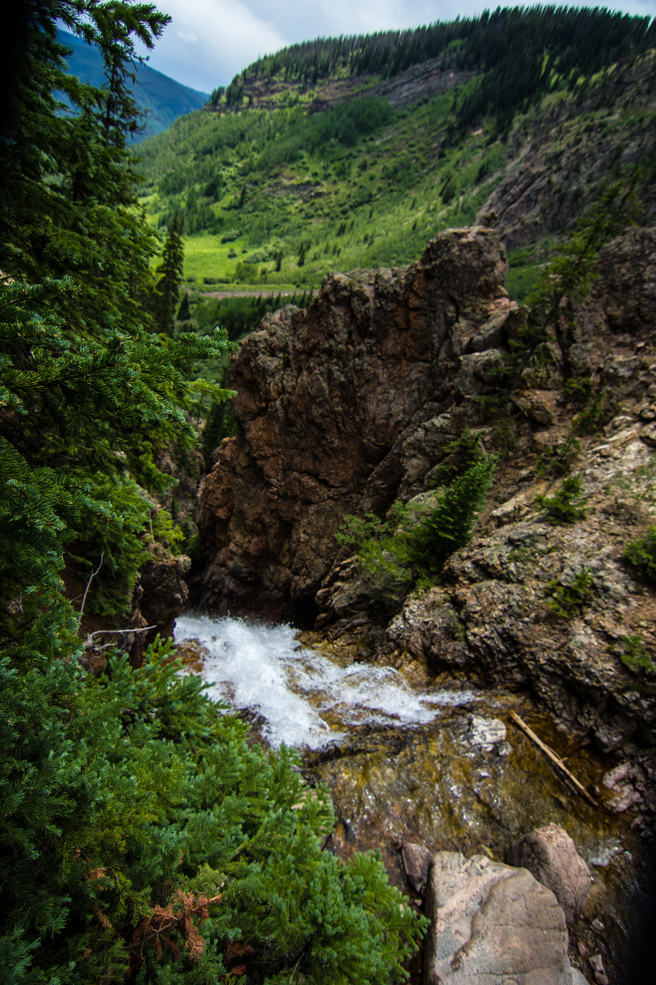 BOOTH FALLS // IMAGE BY WWW.FRANKIEBOYPHOTOGRAPHY.COM // EAST VAIL, COLORADO