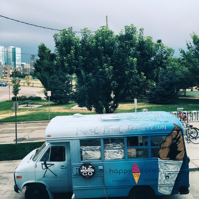 HAPS REAL FRUIT ICE CREAM // DENVER, COLORADO // OUTSIDE AVANTI'S
