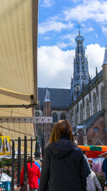 emily strolls the markets in haarlem