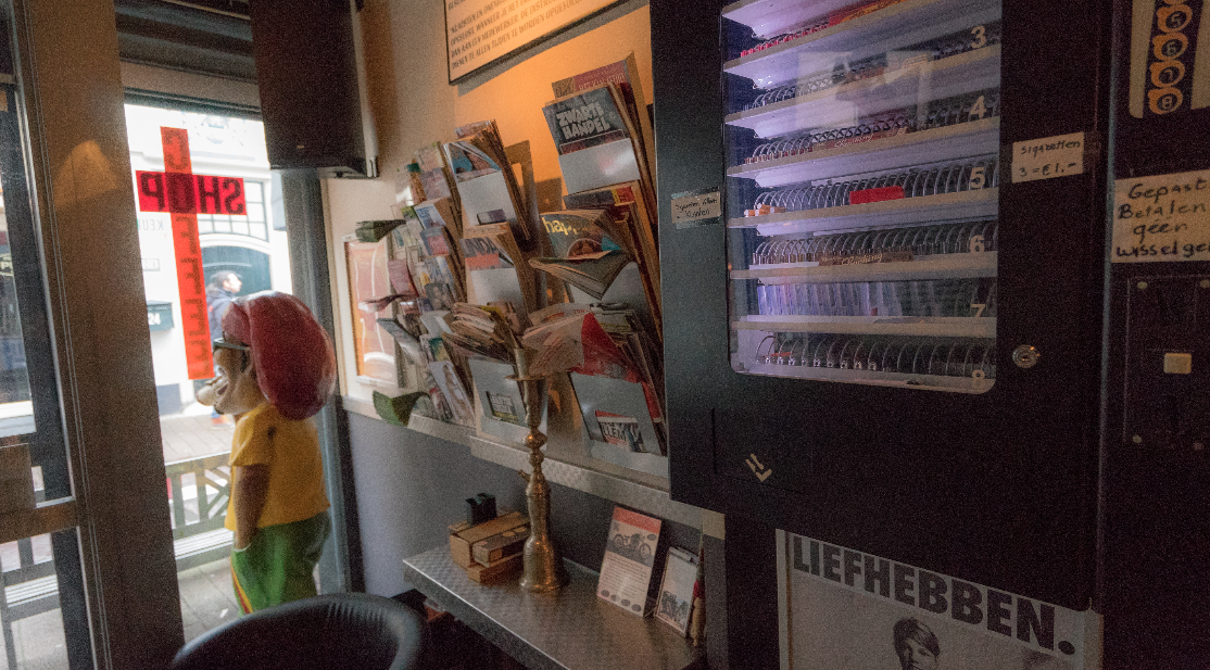 inside look at high times coffee shop in haarlem netherlands