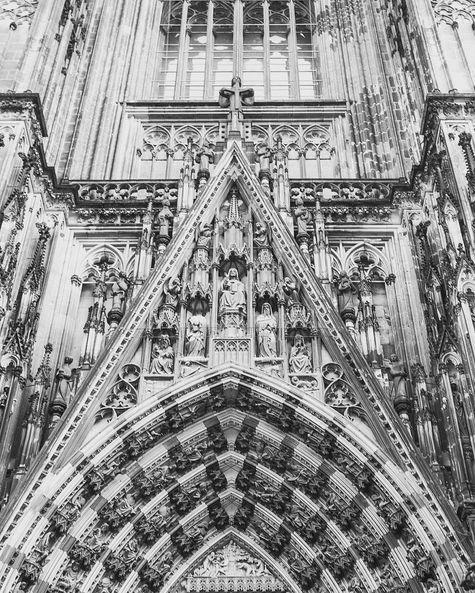 GOTHIC DESIGN LINES THE KOLNER DOME // KOLN, GERMANY IMAGE BY FRANKIEBOYPHOTOGRAPHY.COM