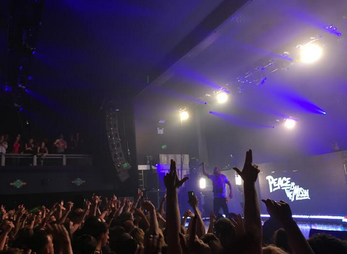 Major LAZER AT THE O2 ACADEMY IN BIRMINGHAM, UK // PEACE IS THE MISSION