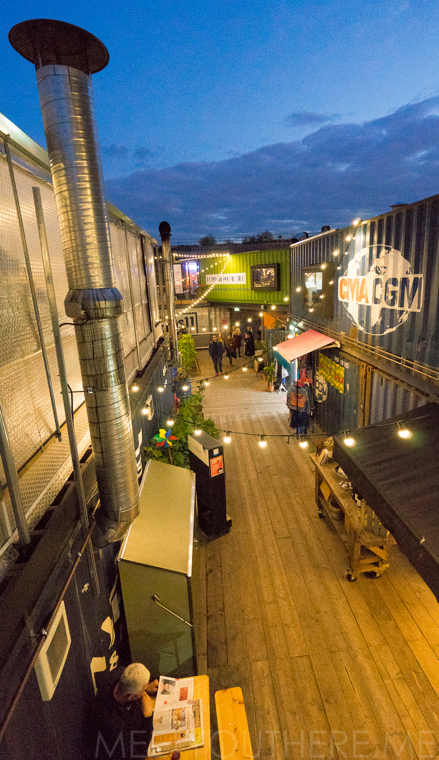 A VIEW FROM THE TOP OF THE POP BRIXTON MARKET // POP BRIXTON