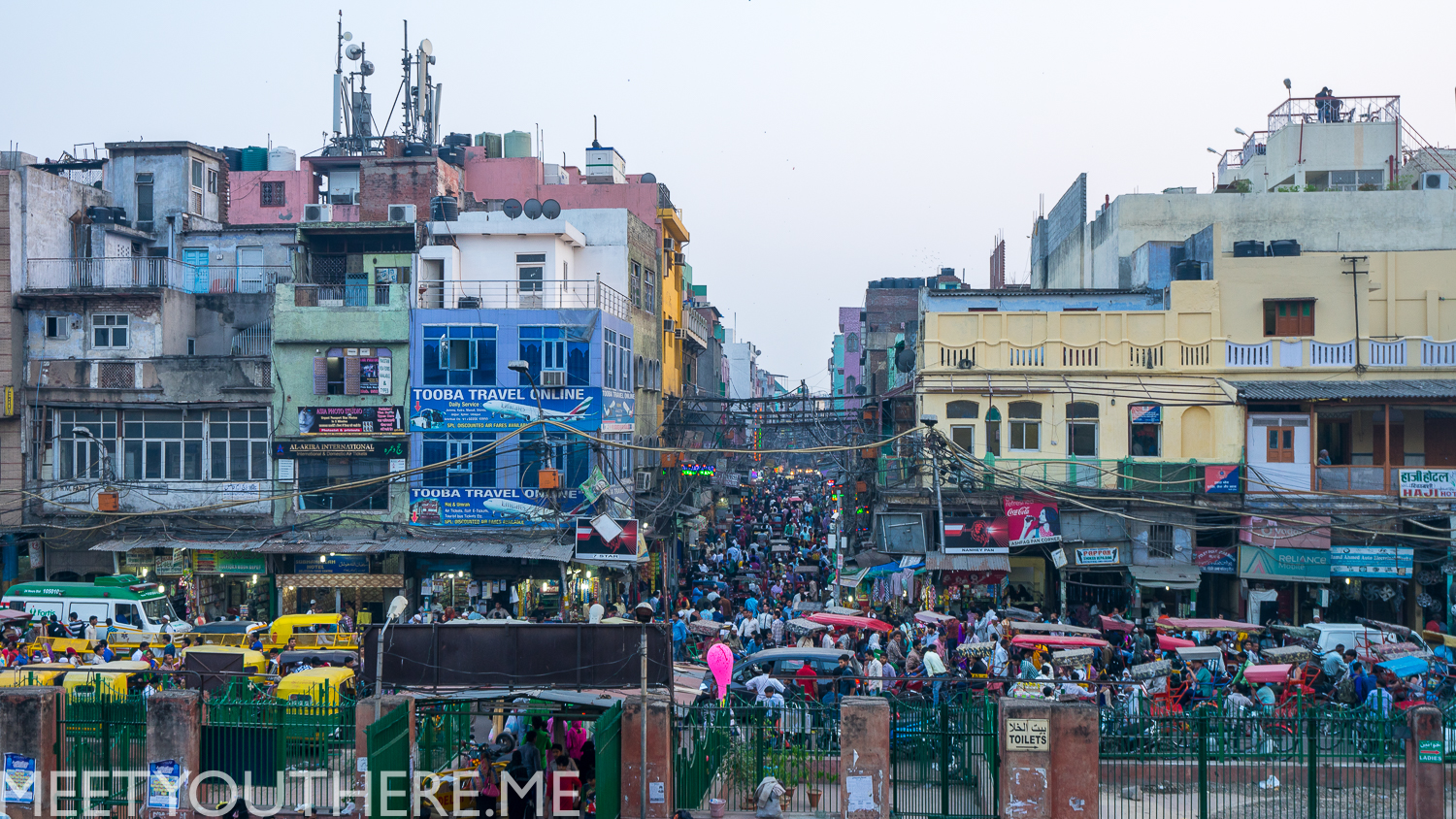 THE BEAST THAT IS OLD DELHI, INDIA // INDIA 2015 MEET YOU THERE IMAGES