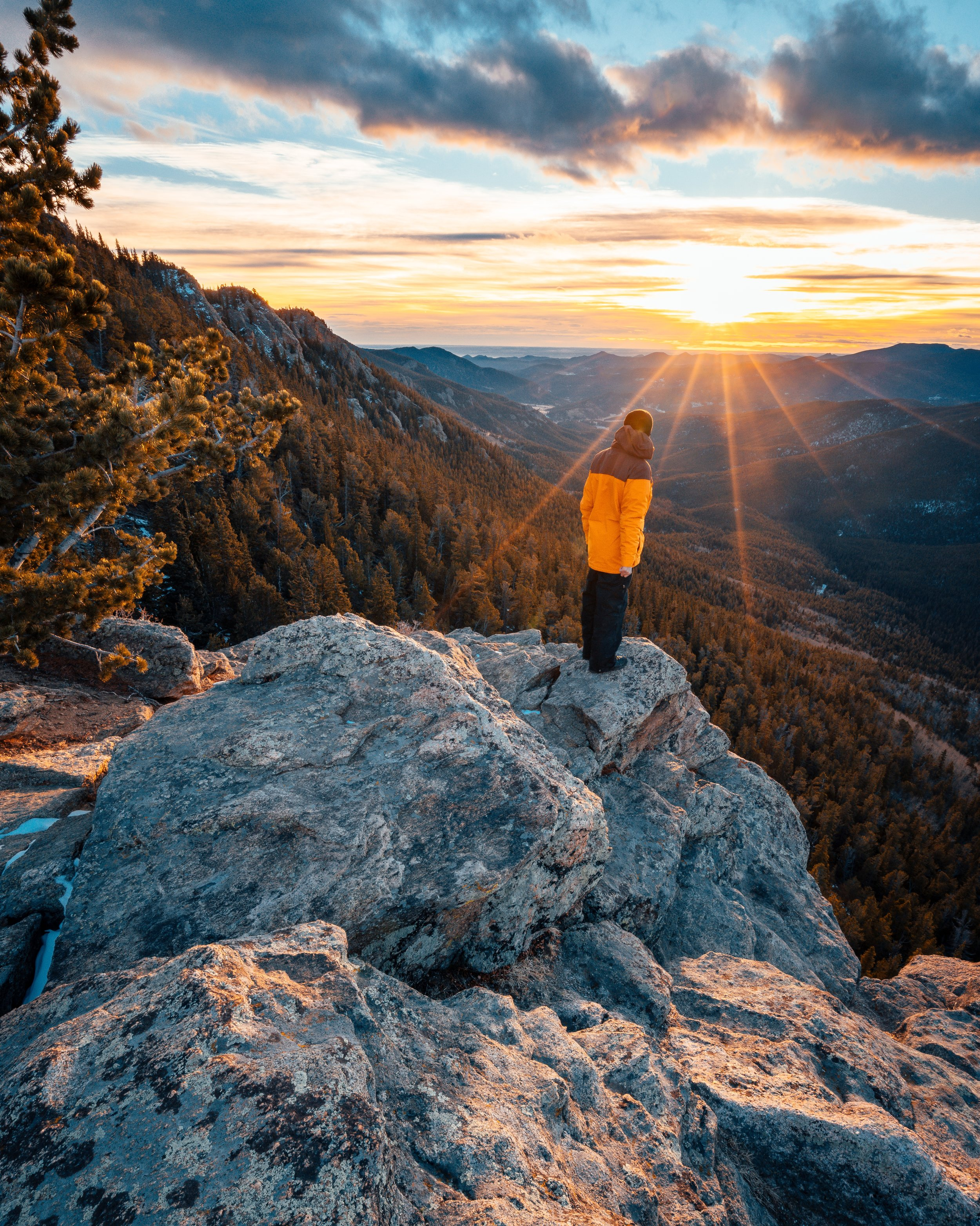 MT. EVANS WILDERNESS, CLEAR CREEK COUNTY, COLORADO