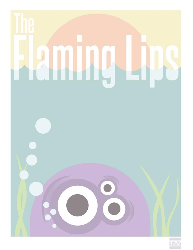 Flaming Lips Promotional Poster