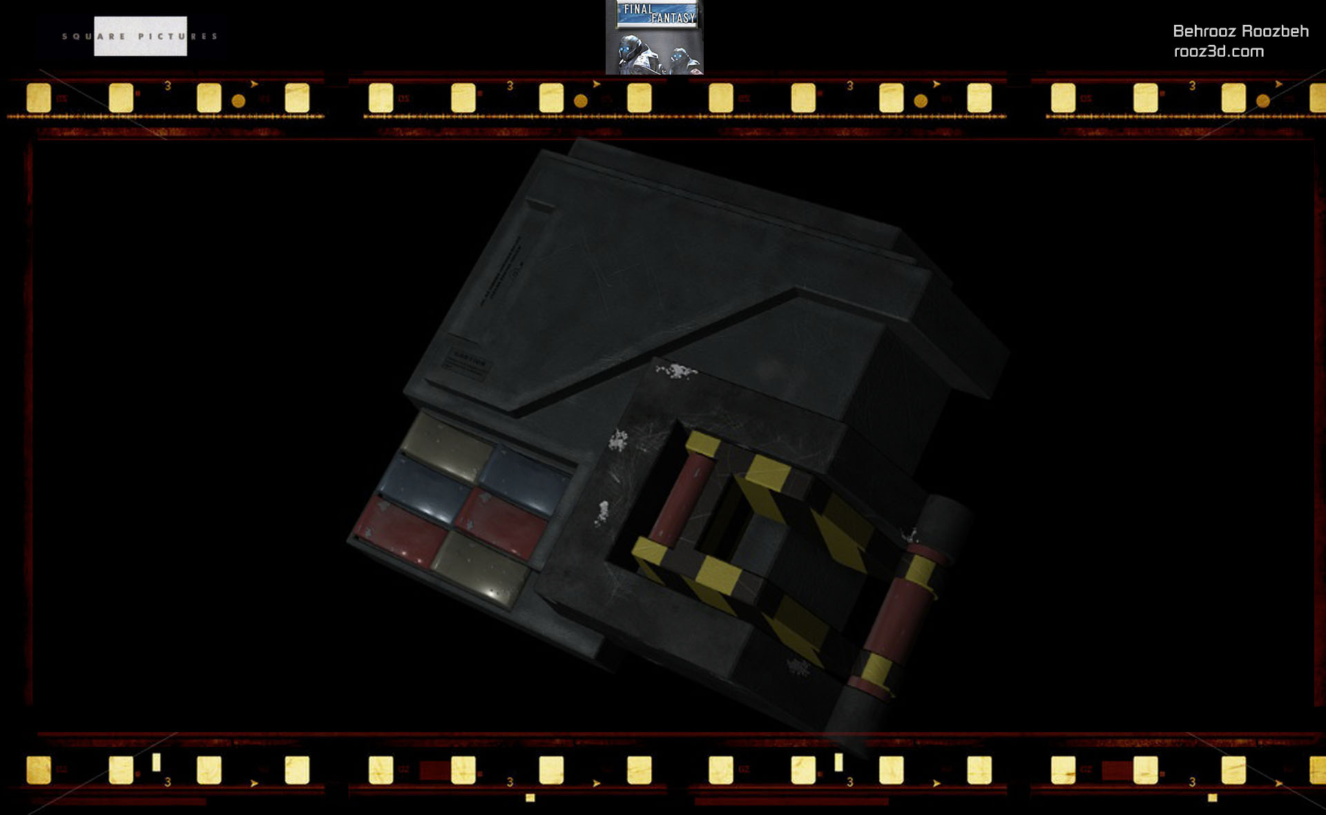 Boa Cockpit    Textures: Behrooz Roozbeh
