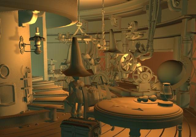 Pilot Room    Modeling/Texture/Lighting:   Behrooz Roozbeh/Rick Makul