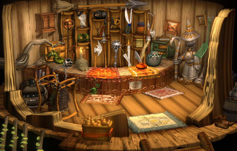 Magic Village    Modeling/Texture/Lighting:   Behrooz Roozbeh