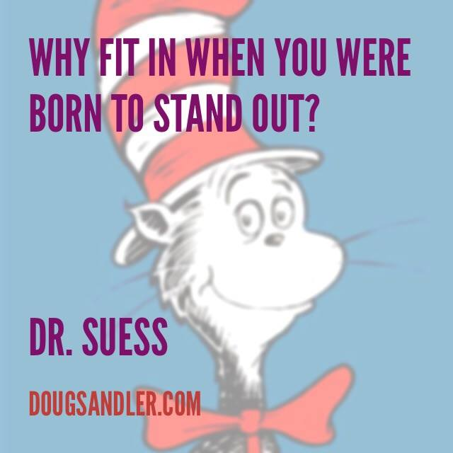Suess quote Customer Service Rules  Nice Guys Finish First Doug Sandler