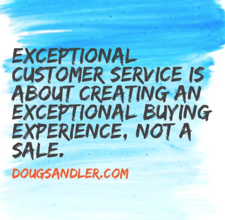 experience Customer Service Rules  Nice Guys Finish First Doug Sandler