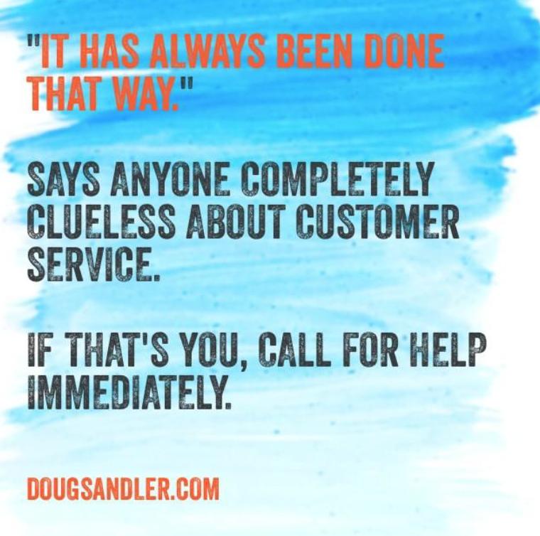 bad customer service Customer Service Rules  Nice Guys Finish First Doug Sandler
