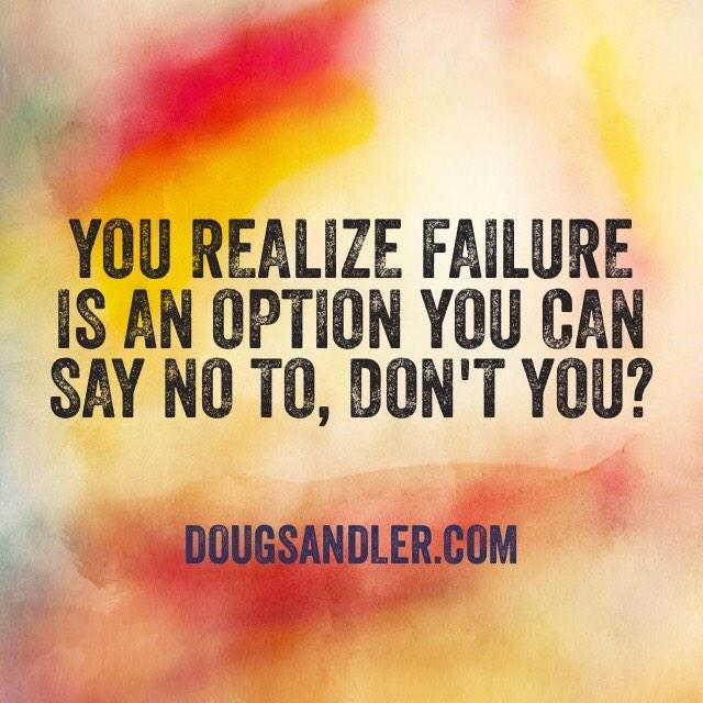 No option for failing