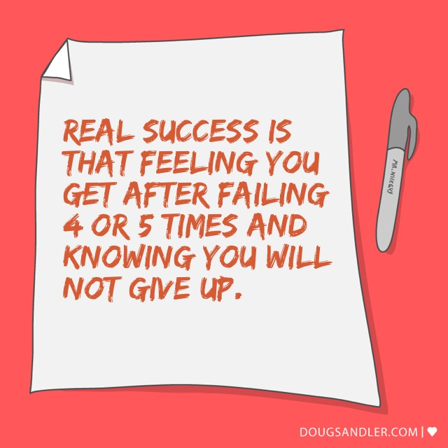 Real success is...
