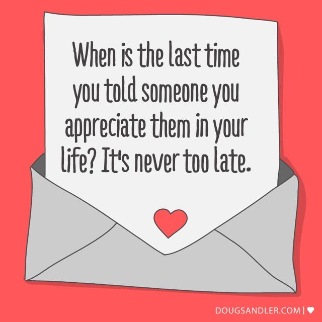 Appreciate People