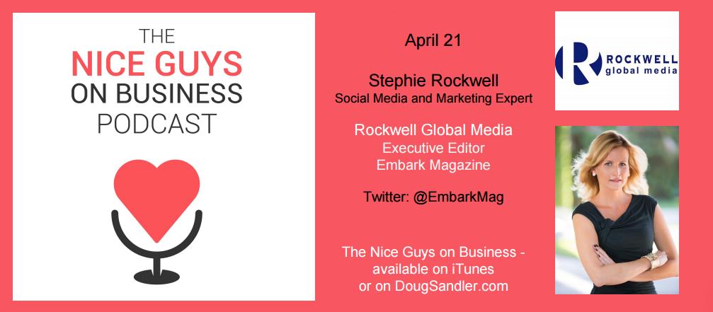 Stephie Rockwell, Rockwell Global Media, Executive Editor Embark Magazine