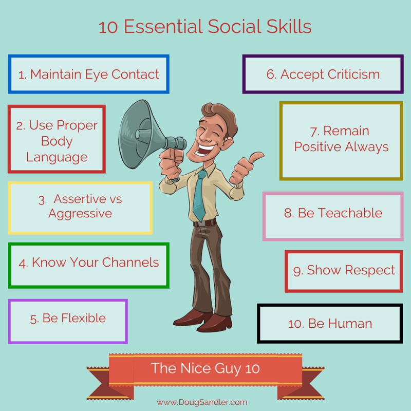 Promote Social Skills Step Away From >> 10 Social Skills Essential For Success Doug Sandler Blog