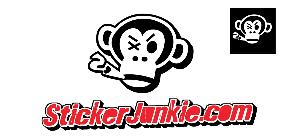"""Our sponsor and friend StickerJunkie.com.  Enter promo code """"NiceGuys10"""" to get $10.00 off your sticker order"""