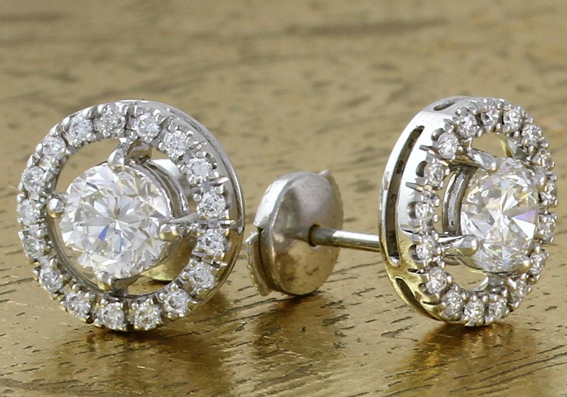 Diamond Earrings - Item No: 0013502A