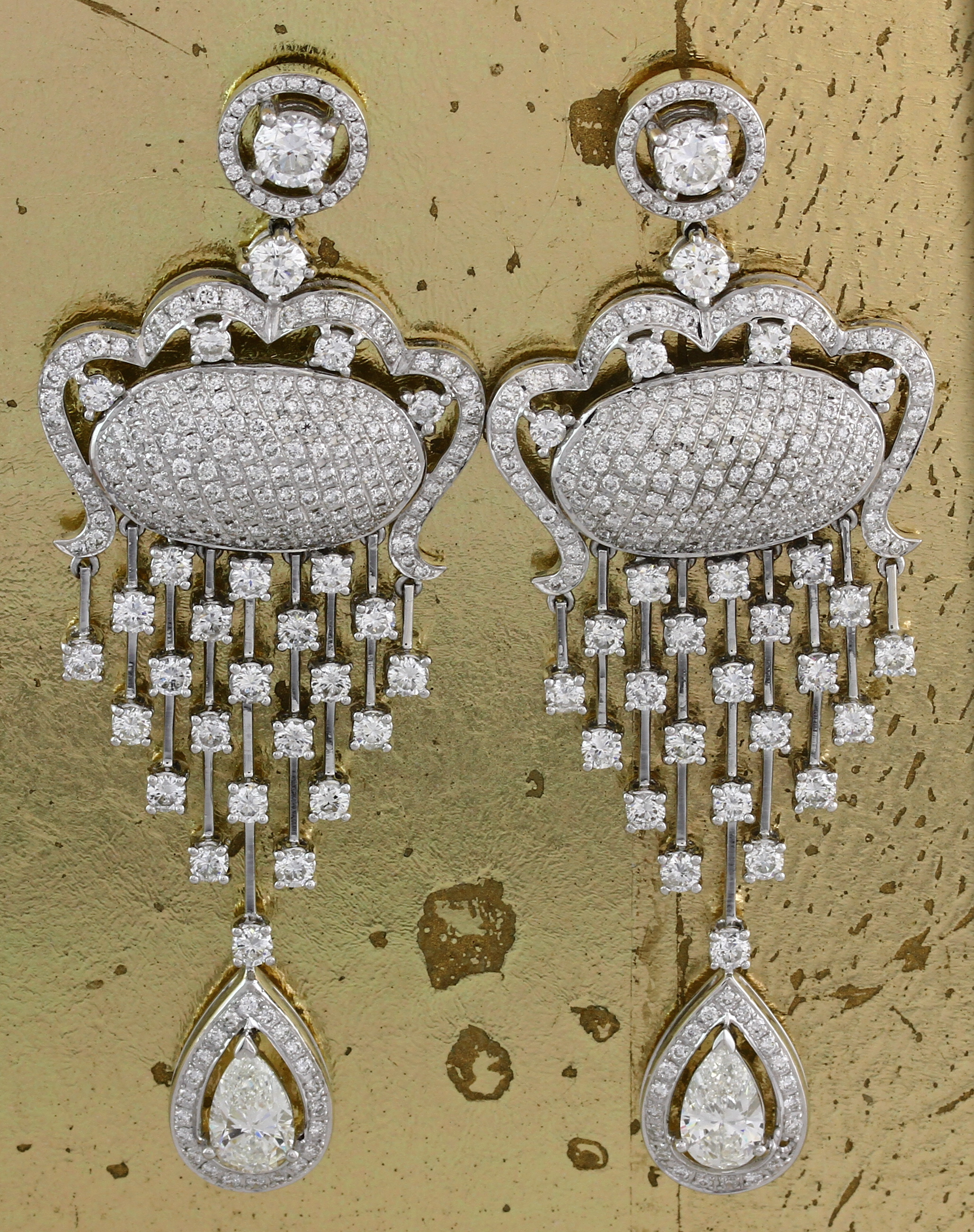 Diamond Earrings - Item No: 0013212