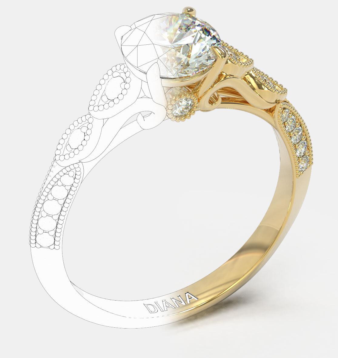 Engagement Rings Dubai Diana Jewellery