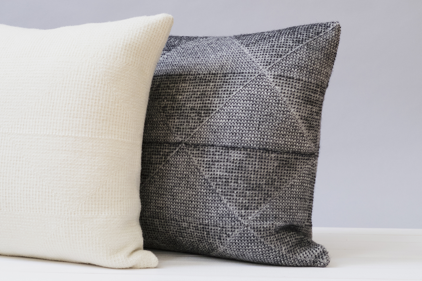 Textured Triangles Pillows for Echoview
