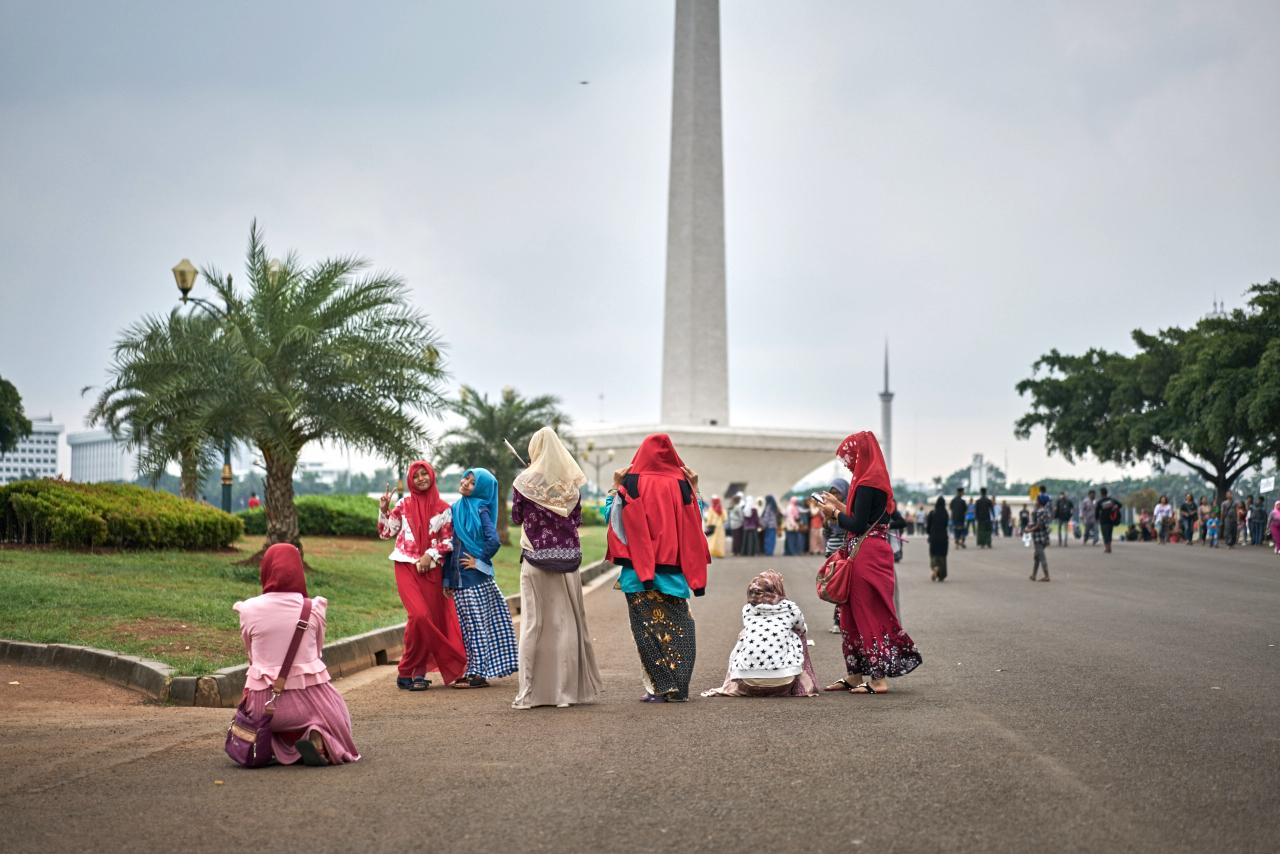 main square of Jakarta-MONAS