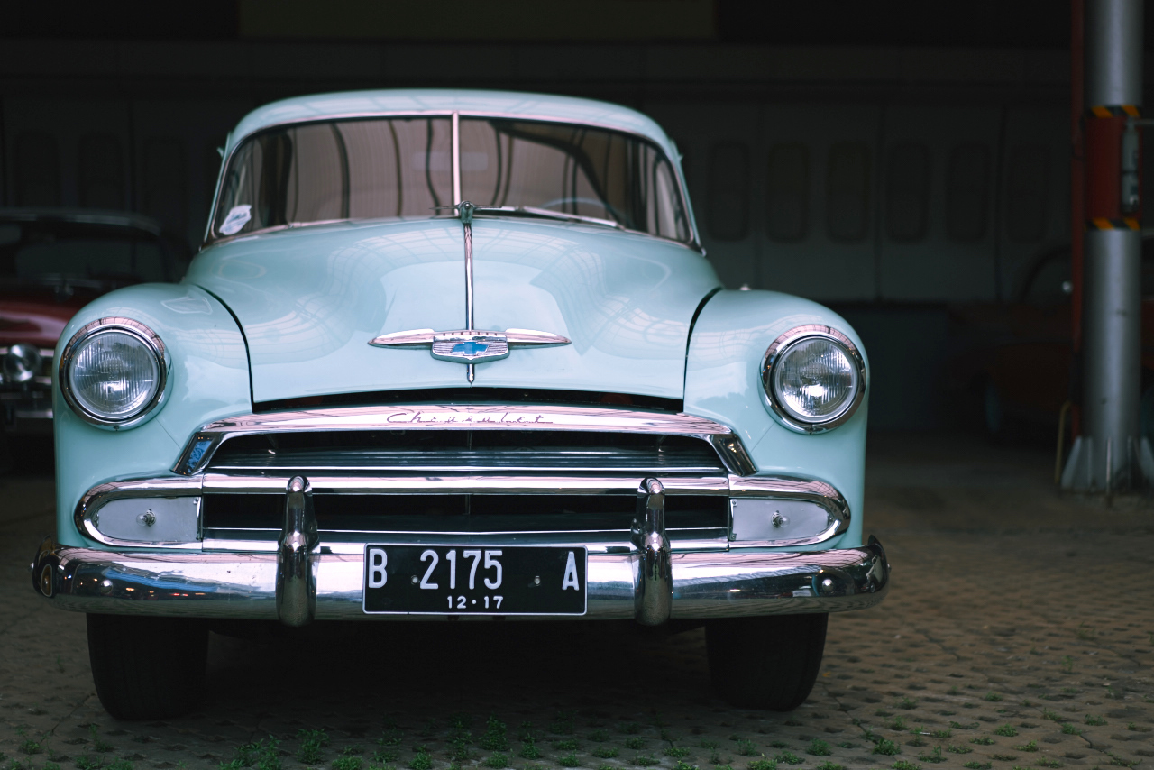classic car collection at Hauwke's Auto  Garage