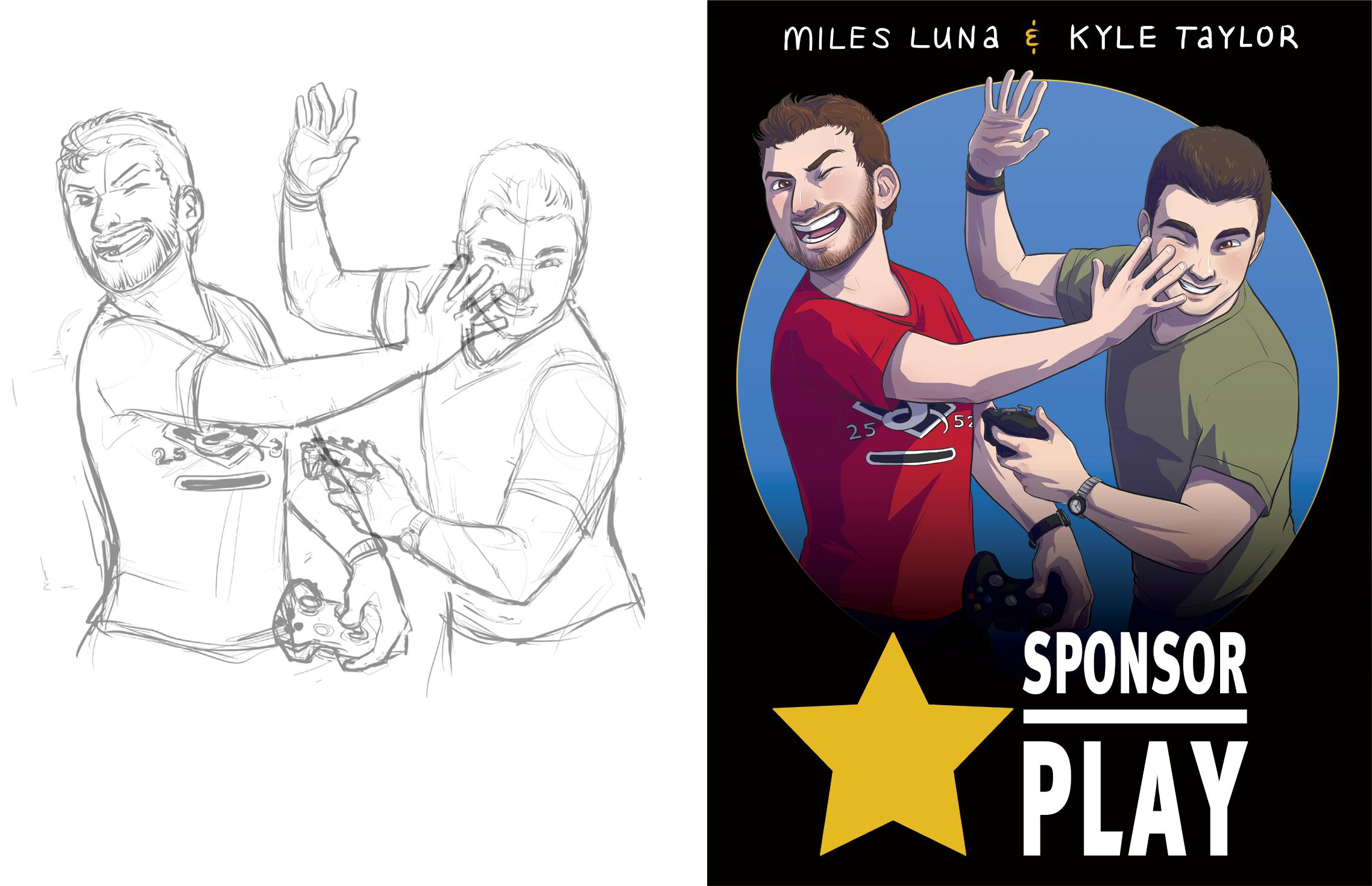 Sponsor Play: Sketch to Final