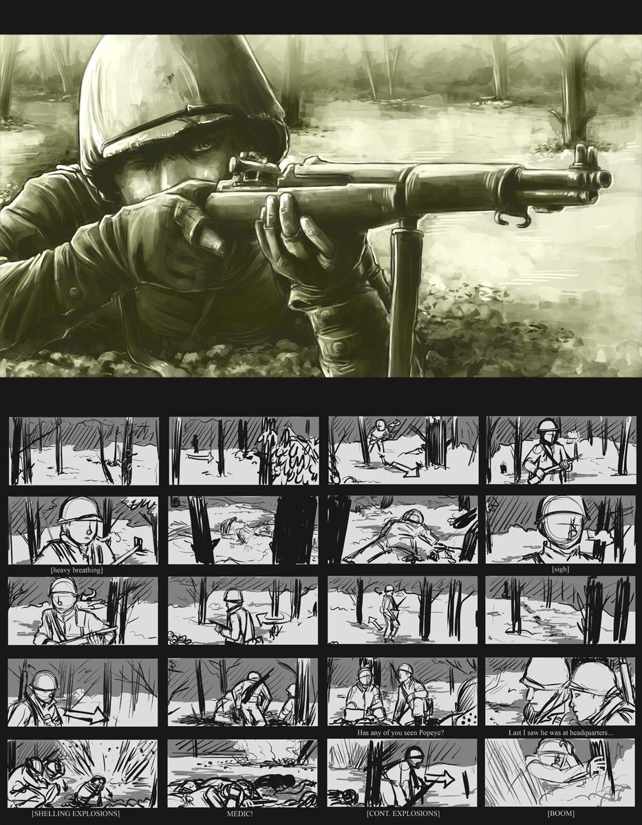 BoB Shifty - Storyboard pt1