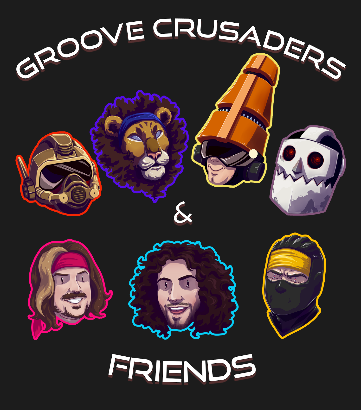 Groove Crusaders & Friends - TWRP & Starbomb