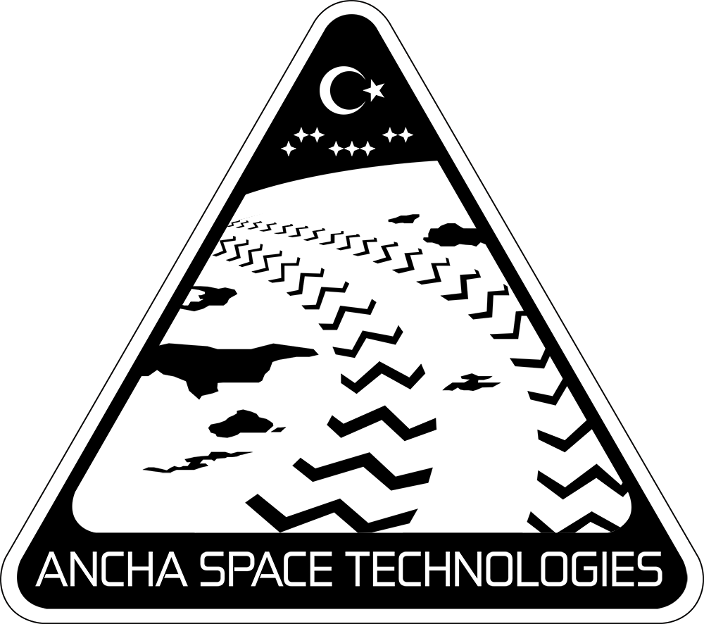 B/W Logo Design for Ancha Space Technologies ( https://ancha.space/ )