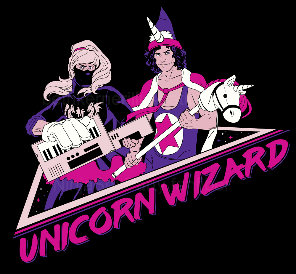 NSP Unicorn Wizard Shirt Design