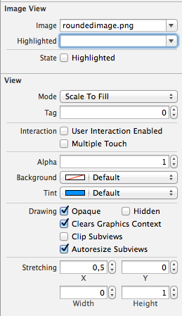 StretchingValues - Attributes Inspector.png